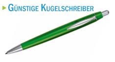 Günstige Kugelschreiber als Werbemittel