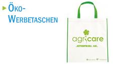 Öko-Werbetaschen mit Logodruck