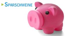Sparschweine als Werbeartikel