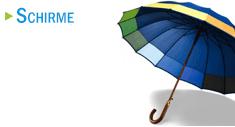 Schirme als Werbegeschenke