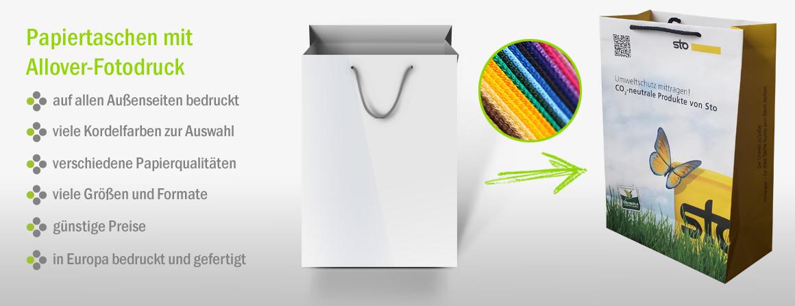 Papiertragetaschen mit Ihrem Logo